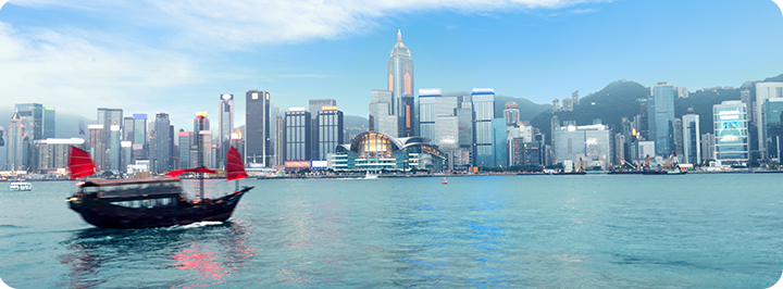 Hong Kong is favourable by tech and financial companies as it provides a business-friendly environment for resident companies